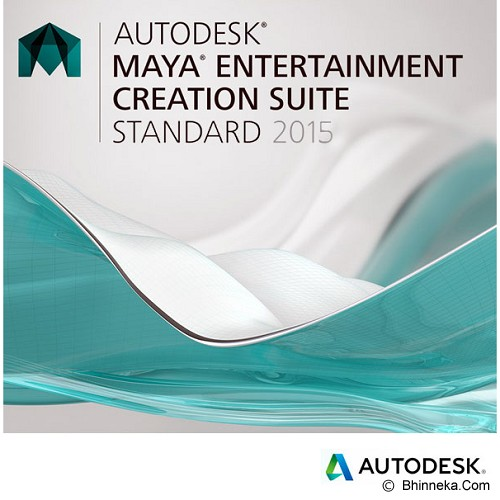 AUTODESK Maya Entertainment Creation Suite Standard 2015 [660G1-938711-1002] - Software Animation / 3d Licensing